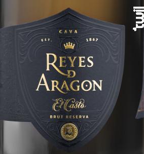 REYES DE ARAGON - CAVA BRUT RESERVA - Chistophe Chapillon - Non millésimé - Effervescent