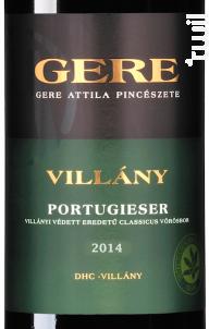 Gere Attila Portugieser - Gere Attila - 2016 - Rouge
