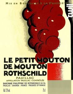 Le Petit Mouton - Château Mouton Rothschild - 2010 - Rouge