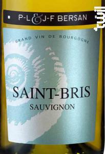 Saint-Bris - Domaine JF & PL Bersan - 2017 - Blanc