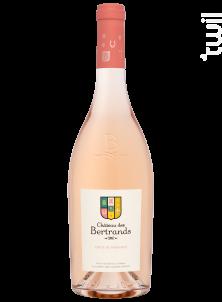 Château des Bertrands - Château des Bertrands - 2020 - Rosé