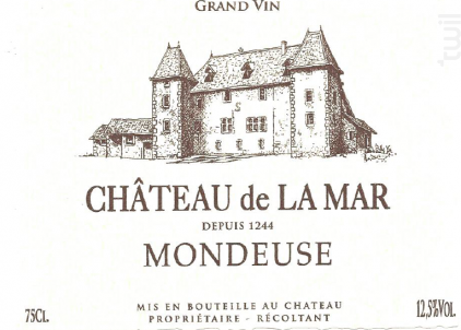 Mondeuse - Chateau de la Mar - 2018 - Rouge