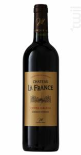 Château La France Cuvée Gallus - Château la France - 2015 - Rouge