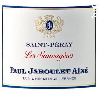 Les Sauvagères - Paul Jaboulet Aîné - 2018 - Blanc