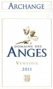 Archange - Domaine des Anges - 2011 - Rouge