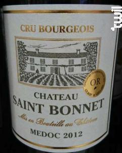 Château Saint Bonnet - Château Saint Bonnet - 2003 - Rouge