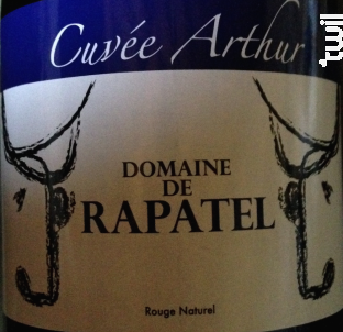 Cuvée Arthur - Domaine de Rapatel - 2009 - Rouge