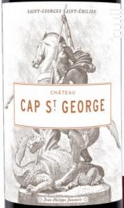 Château Cap Saint George - Château Cap Saint George - 2018 - Rouge
