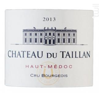 Château Du Taillan Cru Bourgeois - Château Du Taillan - 2013 - Rouge