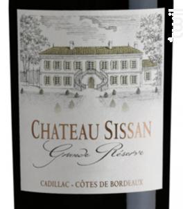 Château Sissan Grande Réserve - Vignobles Yung - Château Montjouan - 2014 - Rouge