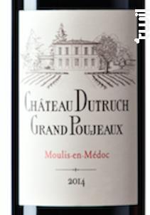 Dutruch Grand Poujeaux - Château Dutruch Grand Poujeaux - 2014 - Rouge