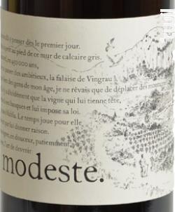 Modeste - Hervé Bizeul - Le Clos des Fées - 2013 - Rouge