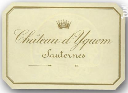 Château d'Yquem - Château d'Yquem - 1989 - Blanc