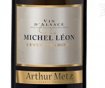 Cuvée Michel Léon Gewurztraminer - Arthur Metz - 2016 - Blanc