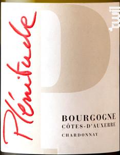 Bourgogne Côtes d'Auxerre Cuvée Plénitude - Domaine Sorin Coquard - 2017 - Blanc