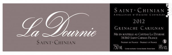 La Dournie - Château La Dournie - 2015 - Rouge