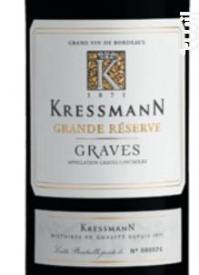 Graves Grande Réserve - Kressmann - 2013 - Rouge