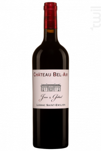 Bel-air 'jean & Gabriel' - Château Bel Air - 2014 - Rouge