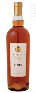RIVESALTES GRANDE RESERVE DOM BRIAL 1989 - Vignobles Dom Brial - 1989 - Blanc