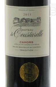 Cahors - Château La Coustarelle - 2014 - Rouge