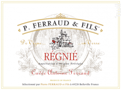 Cuvée Antoine Ferraud - P. Ferraud & Fils - 2018 - Rouge