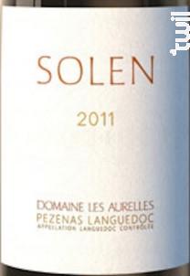 Solen - Domaine Les Aurelles - 2011 - Rouge