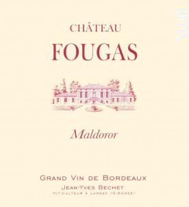 Maldoror - Château Fougas - 2005 - Rouge
