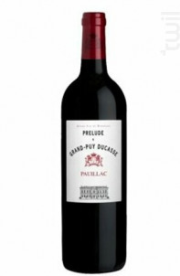 Prélude à Grand-Puy Ducasse - Château Grand-Puy Ducasse - 2016 - Rouge
