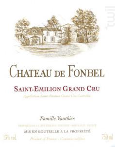 Château de Fonbel - Château de Fonbel - 2015 - Rouge