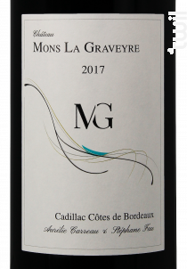Château Mons La Graveyre - Château Mons La Graveyre - 2017 - Rouge