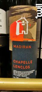 Madiran Chapelle Lenclos - Famille Laplace - 2018 - Rouge
