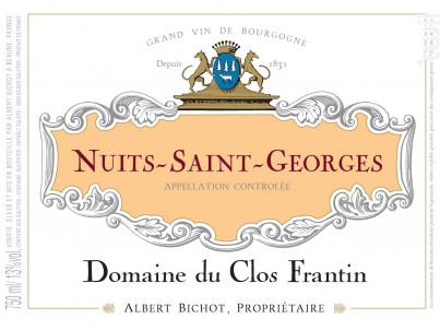 Nuits-Saint-Georges - Domaine du Clos Frantin - Domaines Albert Bichot - 2018 - Rouge