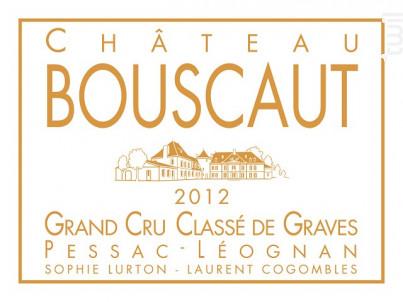 Château Bouscaut - Château Bouscaut - 2012 - Rouge