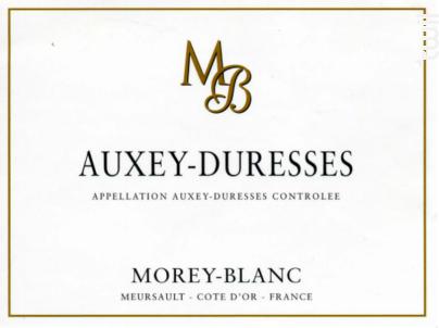 Auxey-Duresses - Morey-Blanc - 2014 - Blanc