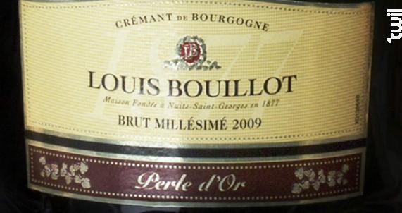 Perle d'Or - Louis Bouillot - 2009 - Effervescent