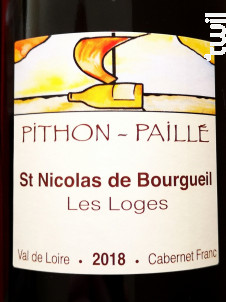 Les Loges - Domaine Pithon-Paillé - 2018 - Rouge
