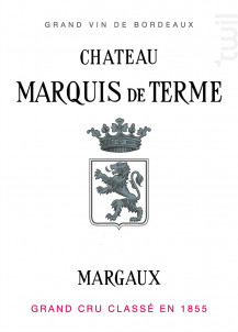 Château Marquis de Terme - Château Marquis de Terme - 2012 - Rouge