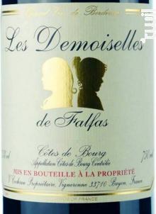 Les Demoiselles - Château Falfas - 2017 - Rouge