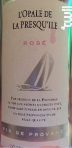 L'opale De La Presqu'ile - Vins Breban - 2014 - Rosé