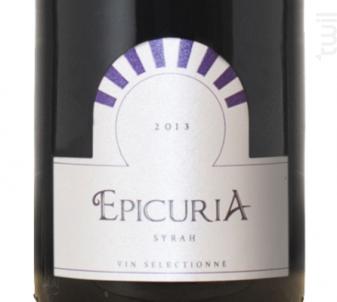 Epicuria Syrah - Zouina - 2015 - Rouge
