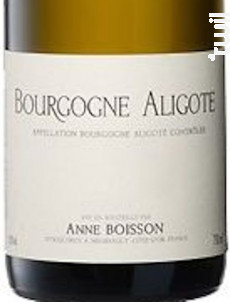 BOURGOGNE Aligote - Domaine Jean Pascal et Fils - 2015 - Blanc