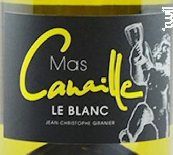 Mas Canaille - LES GRANDES COSTES - 2017 - Blanc