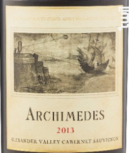 Archimedes - cabernet sauvignon - FRANCIS FORD COPPOLA WINERY - 2014 - Rouge