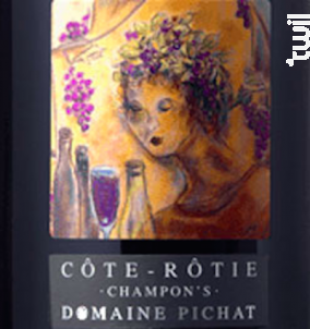 Côte Rôtie Champon's - Domaine Pichat - 2016 - Rouge