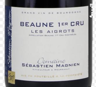 Beaune 1er Cru les Aigrots - Domaine Sébastien Magnien - 2018 - Rouge