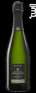 Brut Millesimé Grand Cru - Champagne Hénin-Delouvin - 2014 - Effervescent