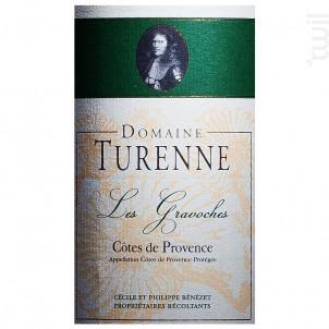 Cuvée Les Gravoches - Domaine Turenne - 2015 - Rouge