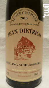 Riesling Grand Cru - Schlossberg