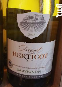 Sauvignon - Berticot - 2018 - Blanc
