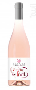Amour de fruit rosé - Domaine Dieu-Le-Fit - Rémi Pouizin - 2018 - Rosé